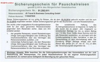 专业德国旅行社,具备旅行社资质和保险