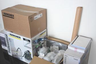 ベッドクリーニング代理店納入資機材