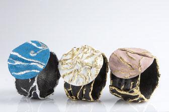 LUNE.BR.0031-Nero/Azzurro/Argento-Nero/Bianco/Oro-Nero/Rosa/Oro