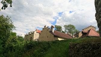 Burg Altmannstein, Gebäude der Vorburg