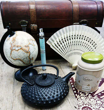 ©Asthéya, voyage autour du thé du monde et ses bienfaits