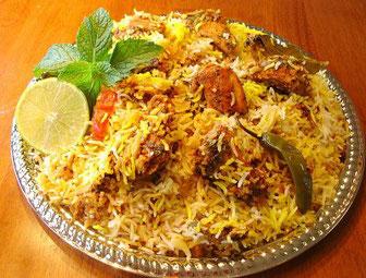 Ricetta riso biryani
