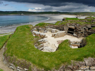 Skara Brae (Bild von John of Groats Ferries)