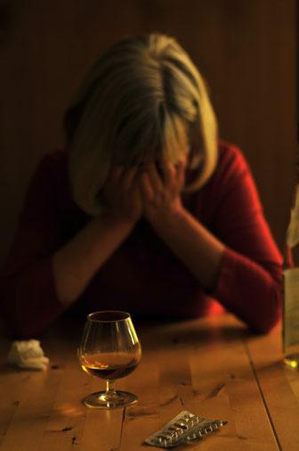 Vor allem Trizyklische Antidepressiva zeigen eine günstige Wirkung auf Bauchschmerzen beim Reizdarmsyndrom. Dies hat nichts mit ihrer antidepressiven Wirkung, sondern mit Effekten auf Serotoninrezeptoren zu tun. Bild: Petra Bork/pixelio.de