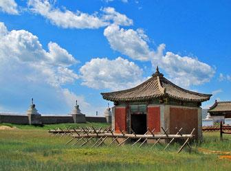 kleiner Pavillion im Kloster Erdene Zuu