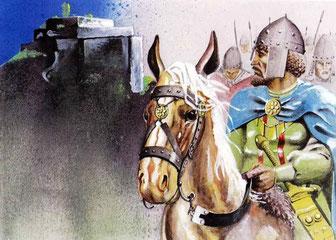 Kralj Petar: Dolazak u boj