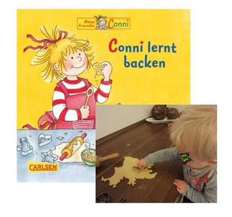 Conni lernt backen - Das Käferchen auch
