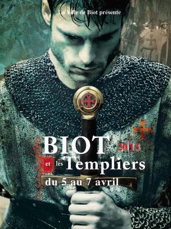 Biot et les Templiers 2013