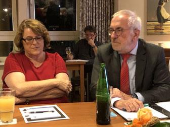 Neu Wulmstorfs Bürgermeister Wolf-Egbert Rosenzweig, SPD Vorsitzende Rosy Schnack