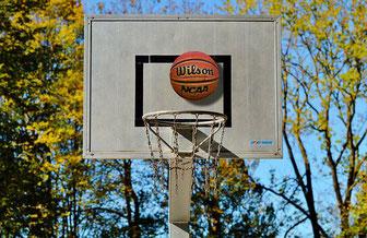 Symbolfoto Basketballkorb -  Pixabay.com