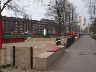 Spielplatz an der Georgswiese im Stadtteil Schalke Foto: Stadt Gelsenkirchen