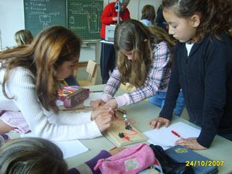 """Unterricht zum Projekt """"Heißer Draht"""""""