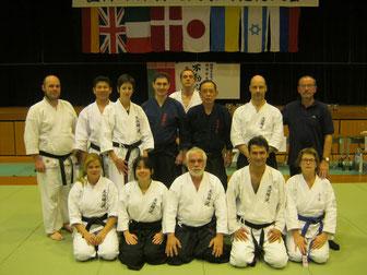 Il gruppo Italiano al Taikai in Giappone nel 2013