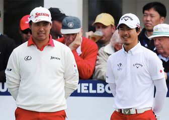 男子ゴルフで活躍する27歳 石川・松山