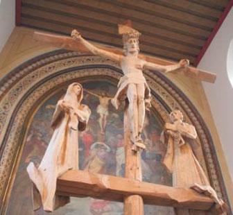 Kreuzigungsgruppe in St. Johann Baptist Memmingen