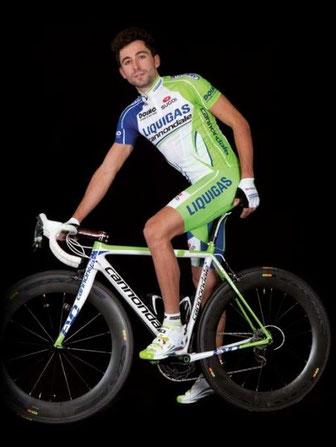 Foto courtesy: Liquigas cannondale, Moreno Moser nella foto ufficiale del 2012.