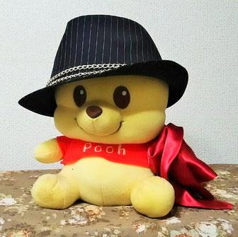Takanoのポケットチーフ&帽子はこんな感じ