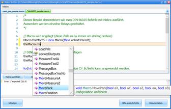 cncGraF - Makro-Programmierung