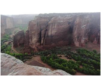 Das große Tal im Canyon de Chelly