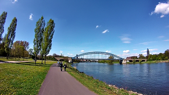 Brücke zur Marieninsel