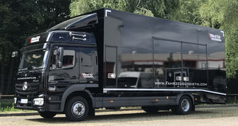 LKW,Doppelstock,geschlossener Fahrzeugtransport