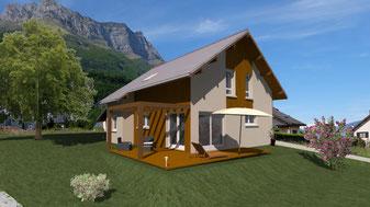 Realisation Construction de maisons individuelles Gresivaudan Isère Savoie