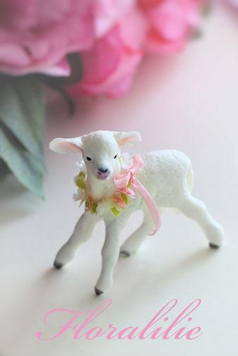 Kleines Zucker Lamm | Floralilie Sugar Art