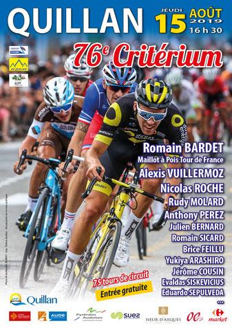 Romain Bardet - Critérium cycliste de Quillan