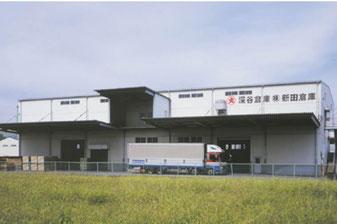 新田倉庫外観 群馬県太田市