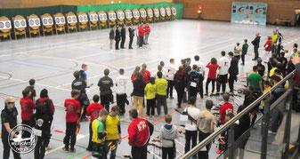 Deutsche Meisterschaft FITA Halle Bogenschießen DBSV 1959 e.V. 2015 in Dessau
