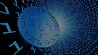 Bitcoin Münze Digital Kryptowährung Internet Sparplan