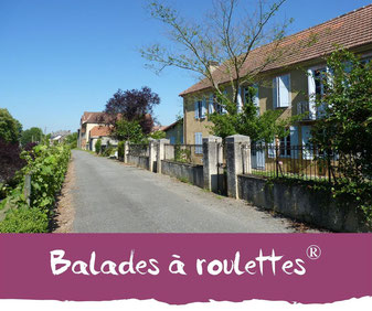 Balades à roulettes - Tourisme Nord Béarn Madiran