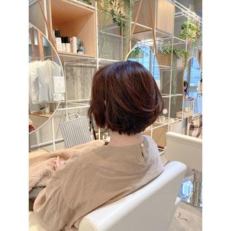 横浜 元町 石川町 美容室 美容師 美容院 ヘアサロン ショート ショートボブ 大人スタイル