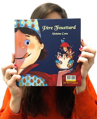 violaine costa père fouettard illustration livre pour enfants illustratrice