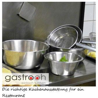 Küchenausstattung Restaurant