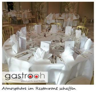 Atmosphäre im Restaurant schaffen