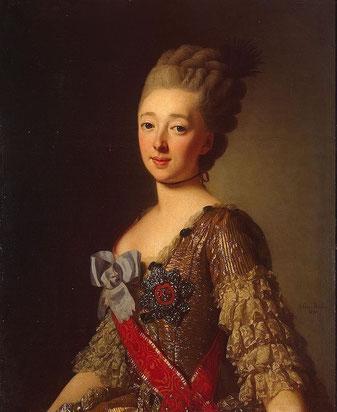 ロシア皇太子妃ナターリヤ・アレクセーヴナ(ヴィルヘルミーネ・ルイーゼ・フォン・ヘッセン=ダルムシュタット)