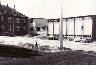 dudweiler, schule, muehlenschule, turnhalle, 1967