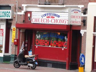 Coffeeshop Weedshop Cheech & Chong Amsterdam