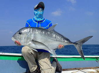 India, Giant Travelly, Popper, Stickbait, Fly Fishing, Tuna, Fishing