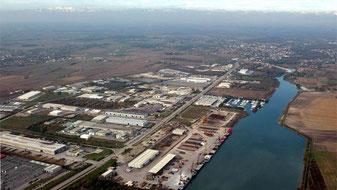 La Zona Industriale Aussa Corno