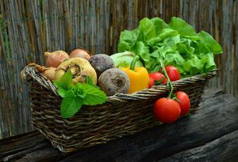 野菜バスケットの写真 congerdesignによるPixabayからの画像