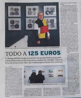 Artículo publicado en el Diario de Burgos