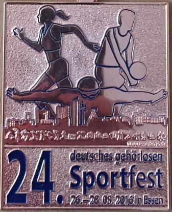 24. deutsches gehörlosen Sportfest in Essen