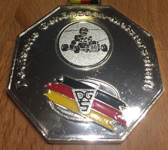 Medaille Herreneinzel 2. Platz