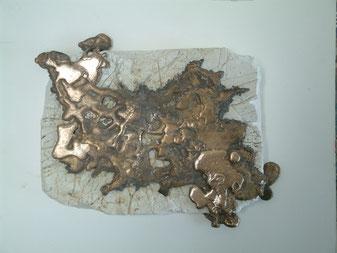 Kunst Berlin Lucia Fischer Objekte Bronze