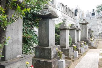 旗本久志本家歴代の墓所(横浜市登録文化財)