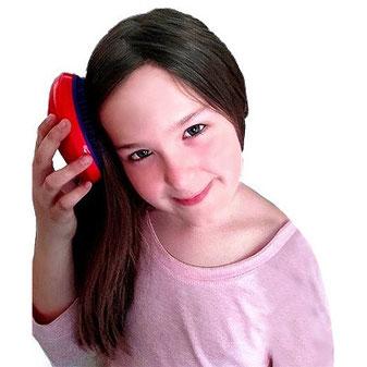 Kinder lieben den Tangle Teezer, kinderbürste, Haarbürste Kinder, Haarbürste für Kinder, Kinderhaarbürste, Kinderbürste ohne Ziepen