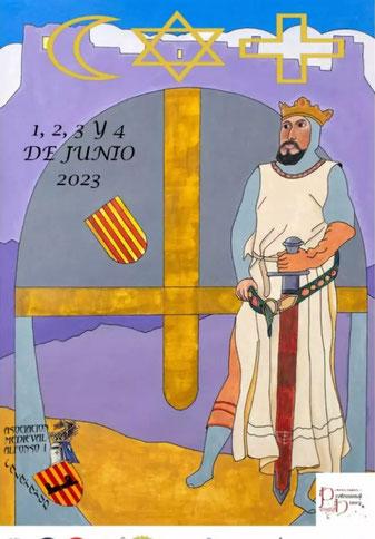 Programa de las Aalfonsadas en Catalayud