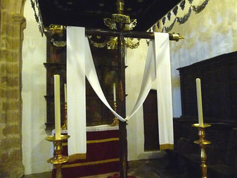 Cruz de Culto. Iglesia Prioral de El Castillo.